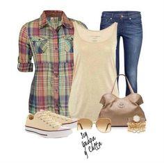 Outfit súper lindo para un día relajado!