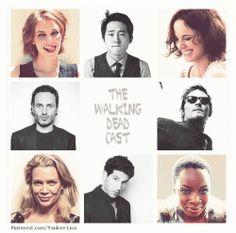 The Walking Dead cast.