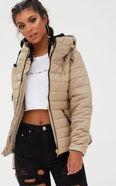 Shop puffer jackets for women, from sleek black to super shiny styles. Whatever your look, shop the perfect bubble coat at PrettyLittleThing USA today. Winter Coats Women, Coats For Women, Jackets For Women, Clothes For Women, Boujee Outfits, Cool Outfits, Puffy Jacket, Outerwear Jackets, Puffer Coats