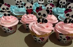 Bolo Panda, Panda Cupcakes, Panda Bebe, Panda Birthday, Panda Party, Childrens Party, Cupcake Toppers, Boy Or Girl, Balloons