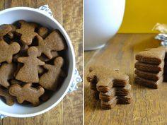 Vegan Gingerbread Folk - Recipe - Holiday / Seasonal Recipe