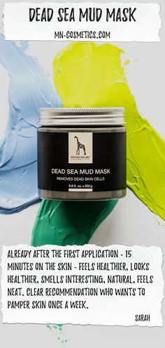 Our base mask not only has a lot on it with 250 ml content, but also a lot in it. Beauty Secrets, Diy Beauty, Totes Meer, Dead Sea Mud, Dead Skin, Mother Nature, How To Remove, Base, Content