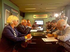 Conferenza stampa con @luisacig @danielesusini @GattaraDesign