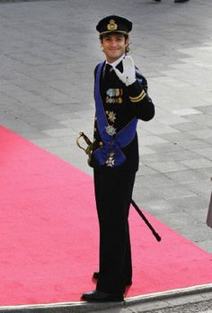 Oct 20 - handsome...Prince Carl Philip of Sweden in Luxembourg wedding ceremony.