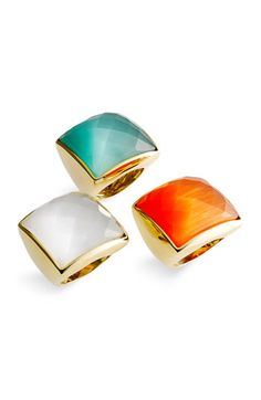 love these cocktail rings