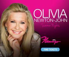 Cyber Monday Deal! Olivia Newton John Las Vegas – Save $40 off Golden Circle Seats