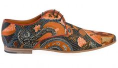 paisley shoe - OMG - I love these shoes.  How fun.