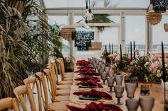 A stunning contemporary coastal chic wedding in a glass marquee on the Zinkwazi lagoon in Kwazulu Natal, designed by KZN wedding planner Oh Happy Day. Chic Wedding, Luxury Wedding, Our Wedding, Clear Marquee, Wedding Planner, Destination Wedding, Marquee Wedding, Dance The Night Away, Modern Bohemian