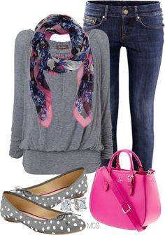 """""""Polka Dot Shoes"""" by mclaires on Polyvore"""