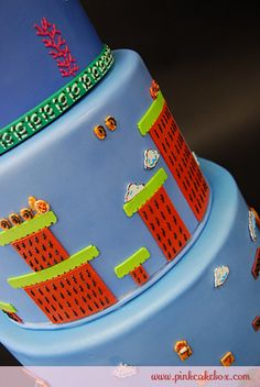 25th Anniversary Super Mario Brothers Cake » Celetion Cakes ... on