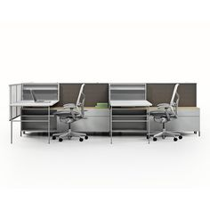 Herman Miller Canvas with Aeron chair