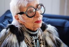 """Iris Apfel. """"She taught us sunglasses can be a style statement."""""""