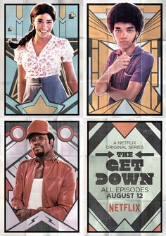 The Get Down: A music-driven drama set in New York about a group of kids in the South Bronx who find themselves at the nexus of the hip-hop, punk and disco scenes. Directed by Baz Luhrmann. The Get Down Serie, The Get Down Netflix, Shows On Netflix, Netflix Series, Series Movies, Baz Luhrmann, World Trade Center, Movies Showing, Movies And Tv Shows
