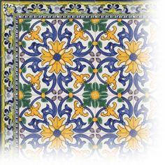 Back splash with Portuguese tiles? Don't mind if I do.