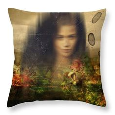 ' aurora ' - art on throw pillow  #cushions #pillows  #interiordesign  #decor #homeware