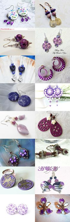 My Purple Ears by Rose Belyea on Etsy--Pinned with TreasuryPin.com
