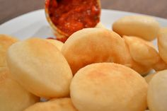 """Dafne's Corner """" il Gusto"""": Frittelle di pasta di pane con pomodoro piccante"""