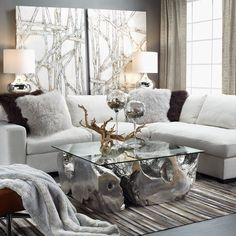 """Exclusively """"Z"""": our Del Mar Sectional is so cozy, your guests may never leave..."""