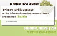 Inscríbete desde ya para el segundo embarque que nos llegará de #TéMatcha a Chile! Haz tu pedido en www.matchachile.com 100% orgánico