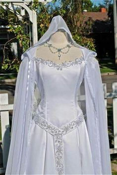 Celtic wedding dress