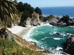 BIG SUR: Further north, gorgeous, along Hwy 1. Lot's of things to do, hike, camp, beaches etc. Just google it. Google images too. GORGEOUS.    another link: http://www.hikinginbigsur.com