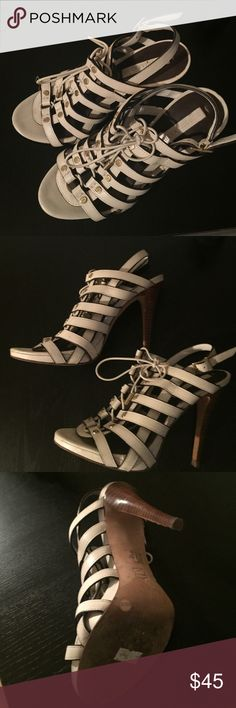 BCBGMAXAZRIA Sandals 100% Leather,Wore Twice,Very Good Condition BCBGMaxAzria Shoes Sandals