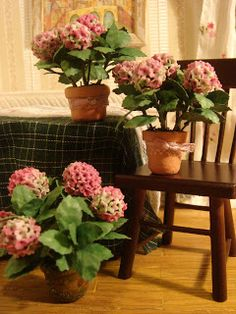 Use a page translator for this tutorial.  The Hydrangea tutorial is very good!