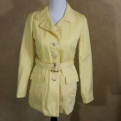 Old Navy Jacket Great condition with exception of minor stain on collar as seen in picture 3 and stain on sleeve as seen in picture 2. Old Navy Jackets & Coats