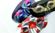 """""""Masquerade Mask Tutorial From Nail Polish and Fake Lashes!"""" by Victoria Stanell / BEAUTYLISH"""