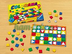 Colorama Game at Lakeshore Learning Lakeshore Learning, Back To School Crafts, Color Games, Preschool Toys, Game Pieces, Simple Shapes, Board Games, Math, Closet