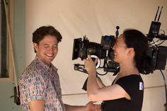Jackson Rathbone and Director of Photography Quyen Tran behind the scenes - Pali Road Jackson Rathbone, Behind The Scenes, Photography, Photograph, Fotografie, Photoshoot, Fotografia