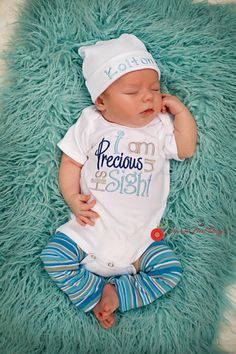Baby boy coming home outfit baby boy clothes baby boy gift newborn personalized boys coming home oufit take home from hospital outfit newborn layette gown negle