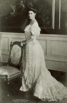 Crownprincess Cecilie of Prussia. 1905.