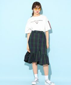 71d74975974f4 New Spring Autumn Plaid Short Student Skirt Girls Fashion Plus Size High  Waist Pleated Mini School Skirt Kids