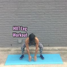 "12.7k Likes, 262 Comments - Carmen Morgan (@mytrainercarmen) on Instagram: ""HIIT Leg Workout Get ready to feel the burn!! - 20 Sec ea Move, 10 Sec rest in btwn each - 3-5…"""