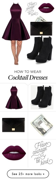 """Untitled #441"" by mistic-flame on Polyvore featuring Kenneth Cole, Victoria Beckham and Lime Crime"