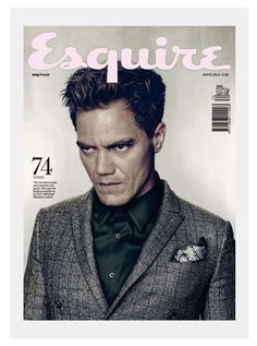 Michael Shannon Covers Esquire 241a May Issue