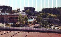 Besuchen Sie unsere Dachterrassen und genießen Sie den Ausblick!! #puchasPLUS #thermenhotel #stegersbach