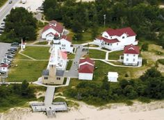 Whitefish Point - Lighthouse and Shipwreck Museum. Home of the bell of the Edmund Fitzgerald.