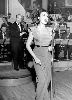 Lena Horne (1940s)..This women was a game changer. I looked up to her so much as a child.