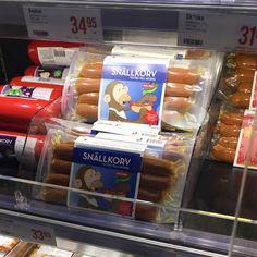Snille pølser på svensk.