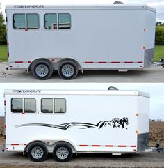 Auto Body Art Truck And Trailer Horse Decals Car Decal - Truck horse decals