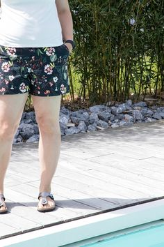 Le short Chi Town Chinos dans ma garde robe de mai - Avril sur un fil