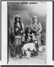 Das-Luca,Skro-Kit,Shus-El-Day,Indians,clothing,White Mountain Apaches,c1909