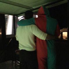 Via:@thisisechambers compartilhou sua foto de seu esposo Armier e Henry no casamento de Guy