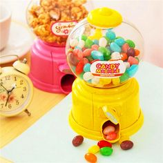 Mini Hot Magic Snack Candy Sweet Nut Gumball Dispensing Machine Boxes Gift Toy Box Decorative Gift For Chridren #Affiliate