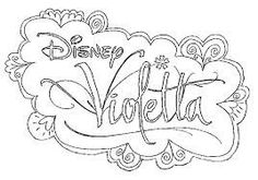 Ausmalbilder Violetta Disney Jeynet Pinterest