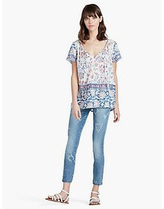 Tops | Lucky Brand Just purchased though mine doesn't fit this loose