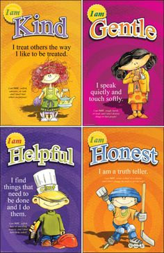 We Choose Virtues: teaching children about good character (mini posters)