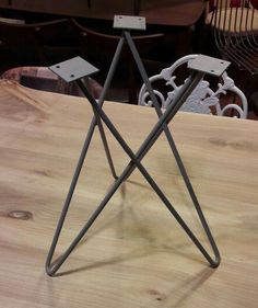 Metal Table Legs Wood Table Desk Legs Steel Furniture Diy Furniture Furniture Design Acrylic Furniture Resin Table Metal Homes